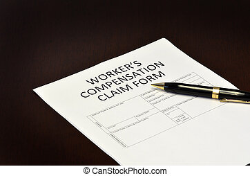 Worker's Compensation Claim Form Application