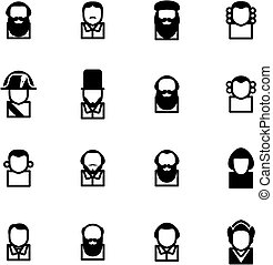 Avatar Icons Historical Figures - This image is a...