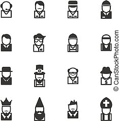 Avatar Icons Set 4 - This image is a illustration and can be...