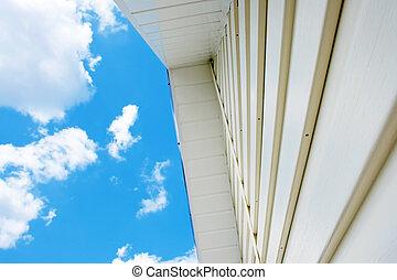 Siding against the sky