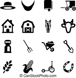 Amish Icons - This image is a illustration and can be scaled...
