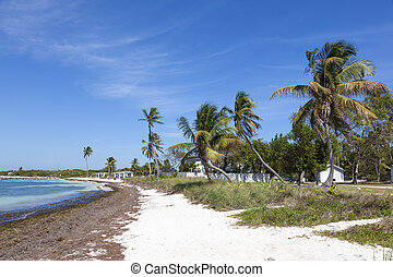 Bahia Honda beach, Florida Keys - Beautiful white sand beach...
