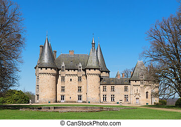 Chateau de Grenerie in French Limousin - Chateau de Grenerie...