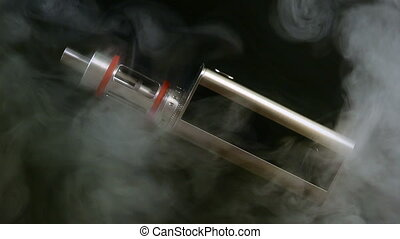 Electronic cigarette close-up