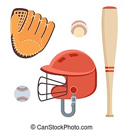 baseball equipment icons