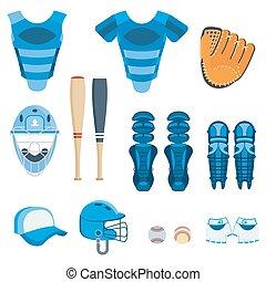 baseball protect equipment