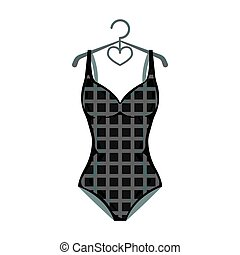 Plaid swimsuit in red and . Underwear for swimming.Swimcuits...