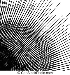 Concentric circular pattern. Random burst, radiating, radial...