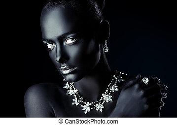 fashion jewelry industry - Fashion jewellery concept....