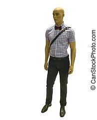 Full-length man mannequin. - Full-length man mannequin...