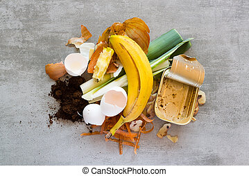 Waste from the kitchen - Organic waste, food and home waste