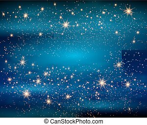 Magic Space. Fairy Dust. Infinity. Abstract Universe...