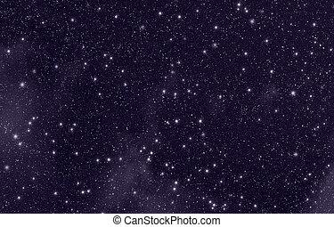 Stars in sky - Stars in the night sky