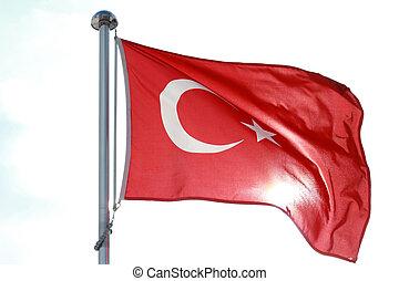 Moon star Turkish flag