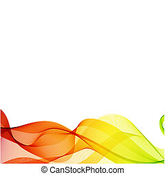 Abstract colorful background - Abstract white background...