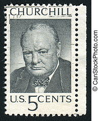 stamp - UNITED STATES - CIRCA 1965: stamp printed by United...