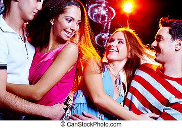 Dates at disco
