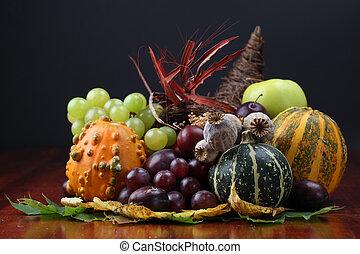 otoño,  cornucopia