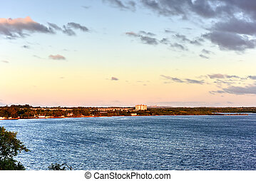 Sunset - Cienfuegos, Cuba - Sunset at Punta Gorda in...