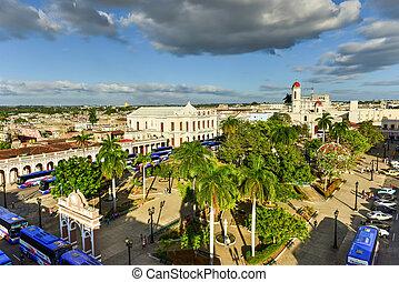 Panorama - Cienfuegos, Cuba - Panoramic view over the city...
