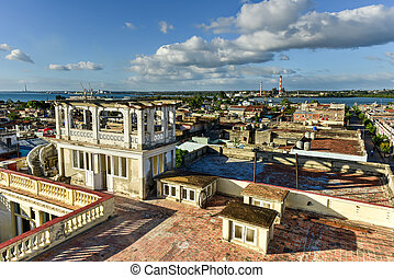 Panorama - Cienfuegos, Cuba - Panoramic view over the city...