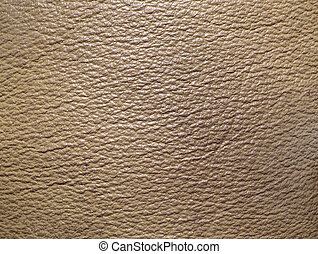Beige leather texture - Close-up of beige leather texture