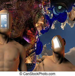 Allegory - Surreal Abstract with human elements
