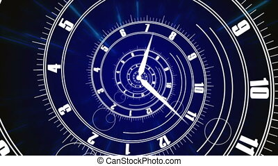 """Animation of Infinity time. "" - ""Animation of Infinity time..."