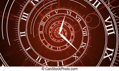 """""""Animation of Infinity time with Rome Figures."""" - """"Animation..."""