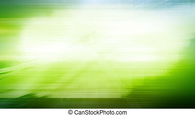 Blue green and white fast moving abstract animated CG...