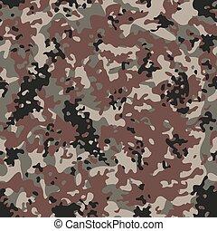 Multiterrain Flectarn Camouflage seamless patterns. Vector...