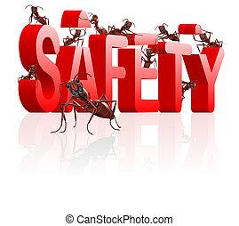 segurança, predios, proteja, seguro