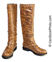 female mass production high boot