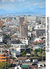 Nagoya city in Japan - NAGOYA, JAPAN -SEPTEMBER 13: Nagoya...