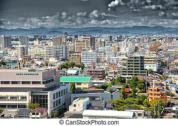 Nagoya city in Japan - NAGOYA, JAPAN -SEPTEMBER 13: Nagoya...