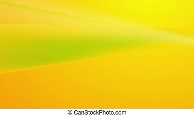 Green and orange abstract stripes video animation