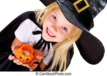 Halloween, niña