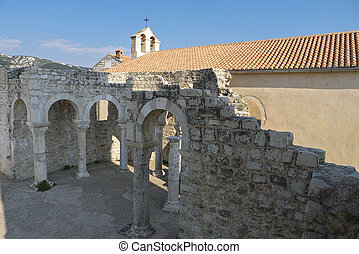 St. John The Evangelist Church, Rab - A view of the St Jogn...