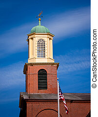 Portsmouth NH Tower 2 - Portsmouth NH Church town October...