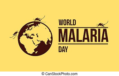 World malaria day collection stock