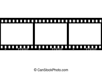 Frames of photographic film (seamless, width of frame 1386...
