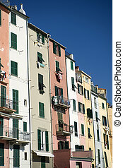 Architectural details of Portovenere - Architectural and...