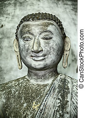 A Young Buddha With Earrings