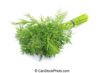 dill - Dill on a white background