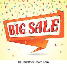 big sale background - Illustration of big sale background
