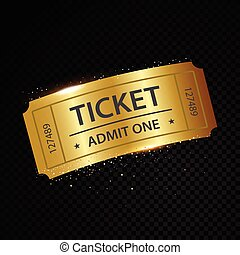 Set of eleven vector tickets and coupons templates - Vector...