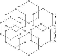 imaginative figure - creative design of geometric figure