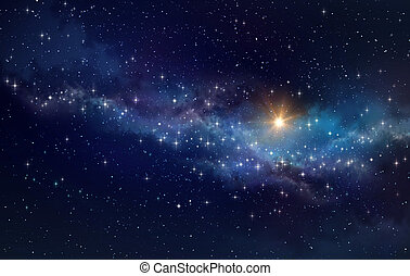 Deep space background - High definition galaxy background,...