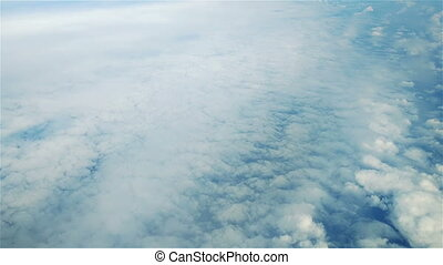 Fly Over Clouds - Aerial filming above fog and clouds