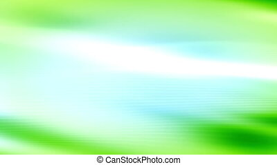 Light blue and green streaks looping animated background -...